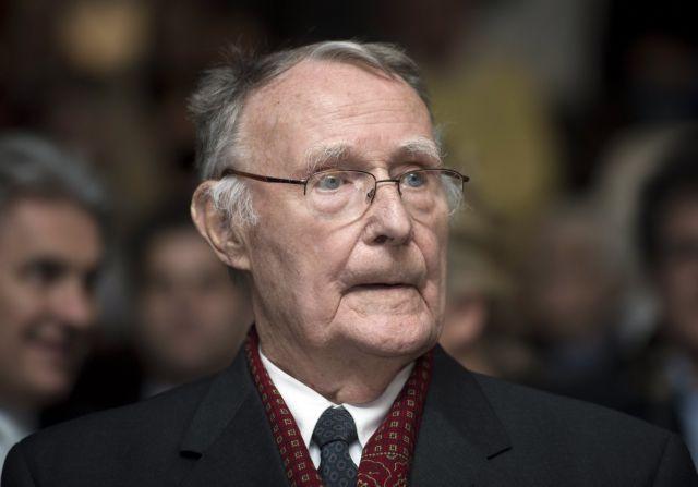 Πέθανε ο ιδρυτής της ΙΚΕΑ Ίνγκβαρ Κάμπραντ