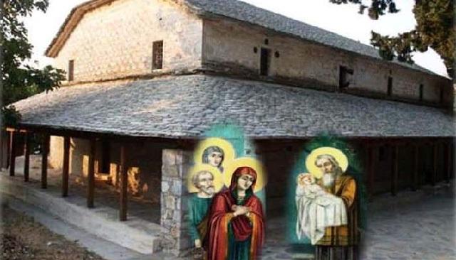 Πανηγυρίζει ο Ιερός Ναός Υπαπαντής στο Βένετο