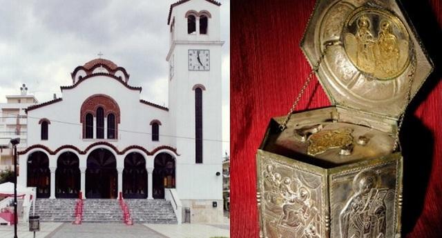 Υποδοχή ιερού λειψάνου του Αγίου Χαραλάμπους στη Νέα Ιωνία