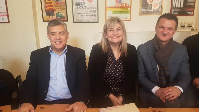 Συνάντηση στη Λάρισα για τα Κέντρα Πρόληψης της Θεσσαλίας