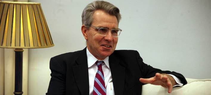 Αμερικανός πρέσβης: Φοβάμαι το ατύχημα μεταξύ Ελλάδας και Τουρκίας στο Αιγαίο