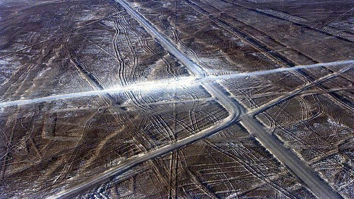 Nταλίκα κατέστρεψε μέρος των γεωγλυφικών της Νάσκα