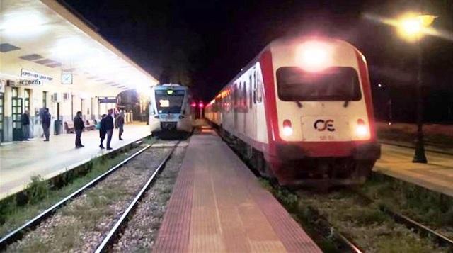 Τρένο… τράκαρε με πρόβατα έξω από το Στεφανοβίκειο