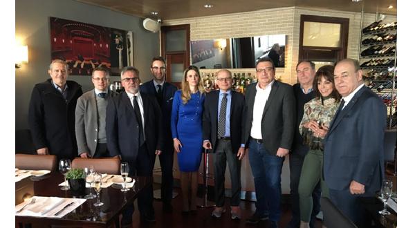 Συνάντηση ΕΔΑ ΘΕΣΣ με τον Πρέσβη της Ιταλίας κ. Efisio Luigi Marras