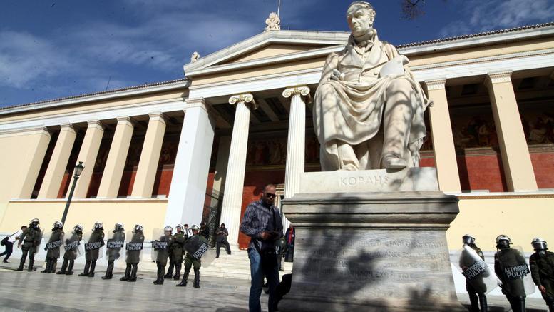 Κόντρα κυβέρνησης-ΝΔ για άσυλο και ανομία στα πανεπιστήμια