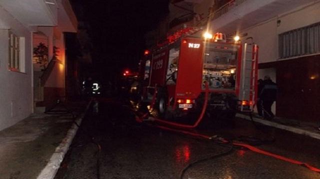Τραγωδία στη Νάουσα: Ηλικιωμένη κάηκε ζωντανή