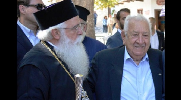 Δωρεά Χαρ. Τσιμά στην μνήμη του Αρχιεπισκόπου Χριστόδουλου