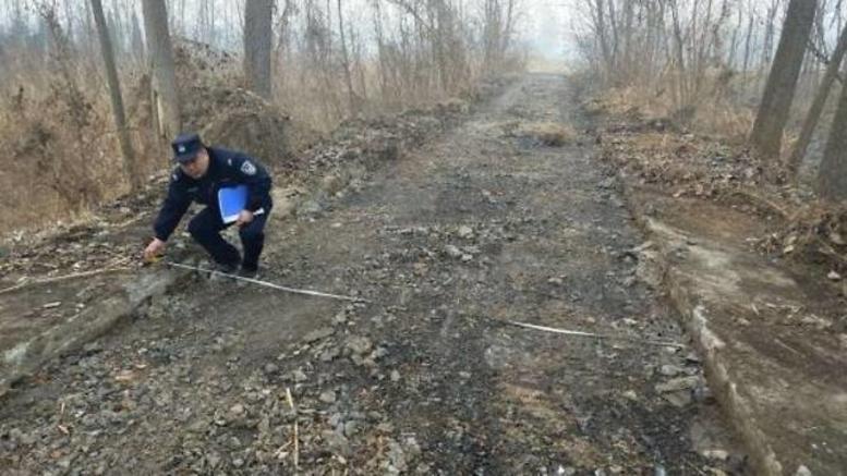 Κλέφτης εξαφάνισε... δρόμο 800 μέτρων για να πουλήσει το μπετόν!