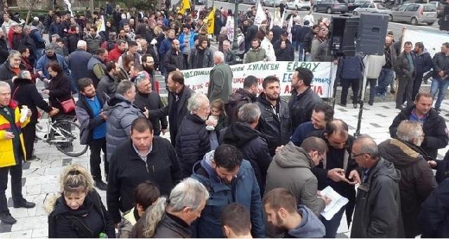 «Πλημμύρισε» αγρότες το κέντρο της Θεσσαλονίκης [photos-video]