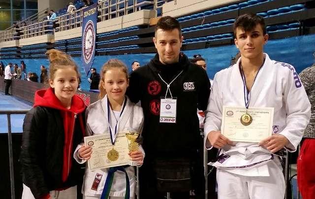 Xρυσό μετάλλιο στο Πανελλήνιο πρωτάθλημα ju jitsu 2018