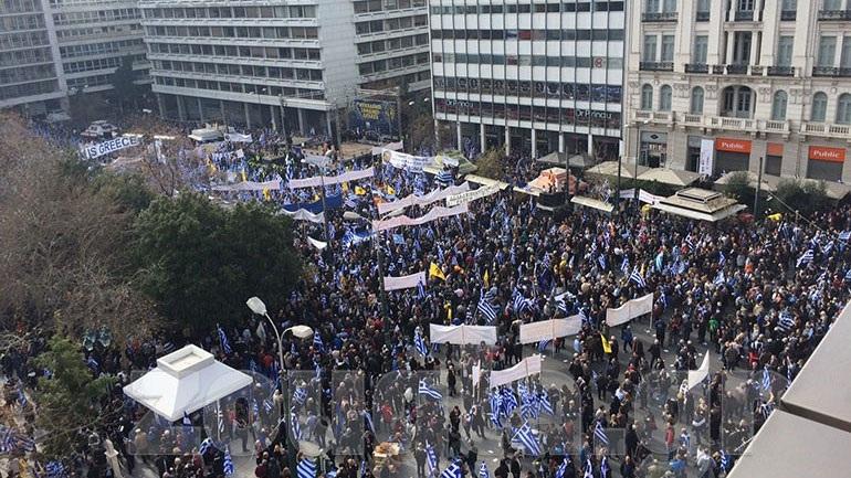 Η εκτίμηση της ΕΛ.ΑΣ. για τον αριθμό των διαδηλωτών