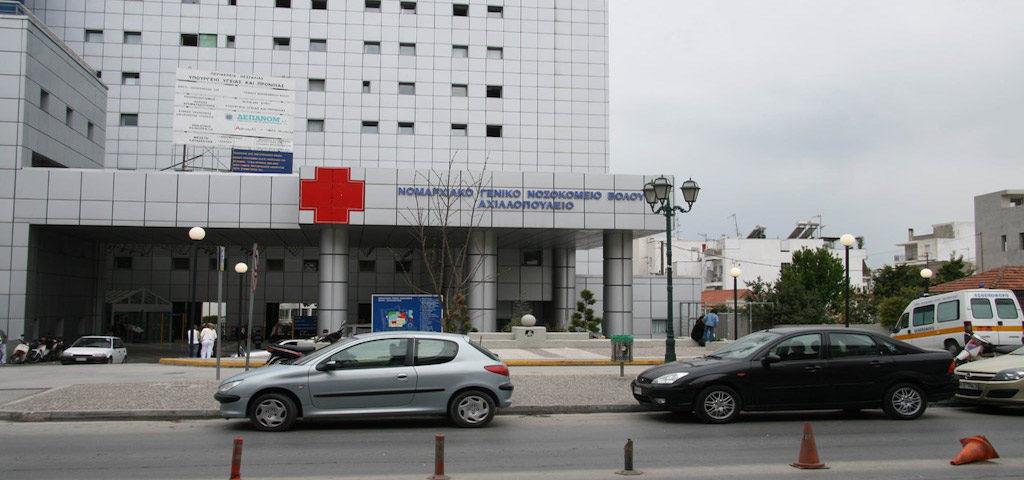 Τροχαίο με δύο τραυματίες τα ξημερώματα στη Λαρίσης
