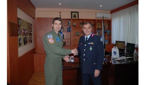 Επίσκεψη Γενικού Αστυνομικού Διευθυντή Περιφέρειας Θεσσαλίας στην 111ΠΜ