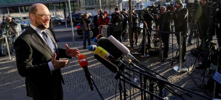 Σουλτς: Πιστεύω πως σήμερα θα καταλήξουμε σε συμφωνία για μια σταθερή κυβέρνηση