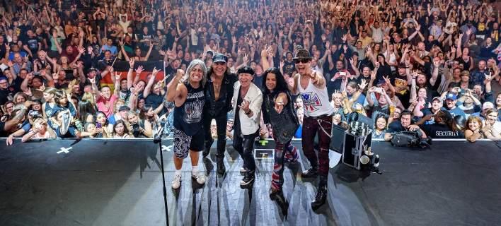 Οι Scorpions τον Ιούλιο στο Καλλιμάρμαρο. Τους συνοδεύει η Κρατική Ορχήστρα Αθηνών