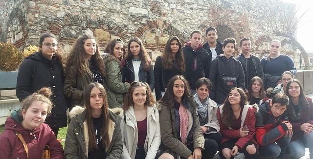 Διδακτική επίσκεψη μαθητών του 6ου Γυμνασίου Βόλου στην Λάρισα