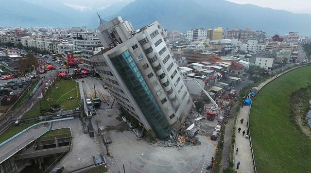Ταϊβάν: Τουλάχιστον 7 νεκροί και 67 αγνοούμενοι μετά τα 6,4R