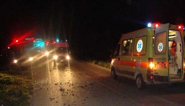 Τροχαίο με απεγκλωβισμό οδηγού έξω από τη Λάρισα