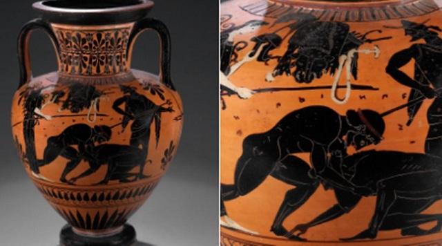 Το Βρετανικό Μουσείο διαφημίζει ελληνικό αμφορέα 2.500 χρόνων