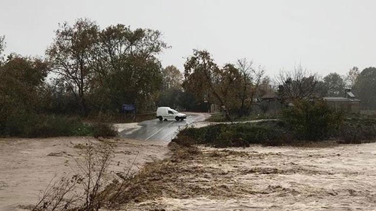 Πλημμύρες και κατολισθήσεις στις παραλιακές περιοχές του δήμου Αγιάς