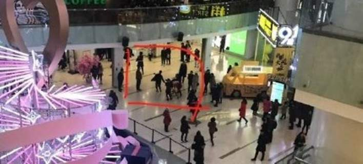Επίθεση με μαχαίρι σε εμπορικό στο Πεκίνο -Μία νεκρή, 12 τραυματίες [βίντεο]