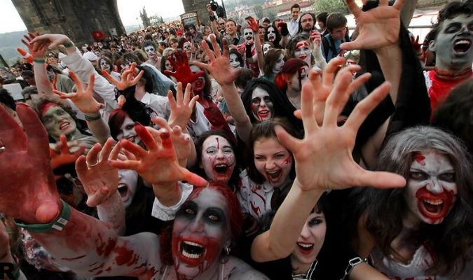 Zombie Walk: Θρίλερ στο Σύνταγμα