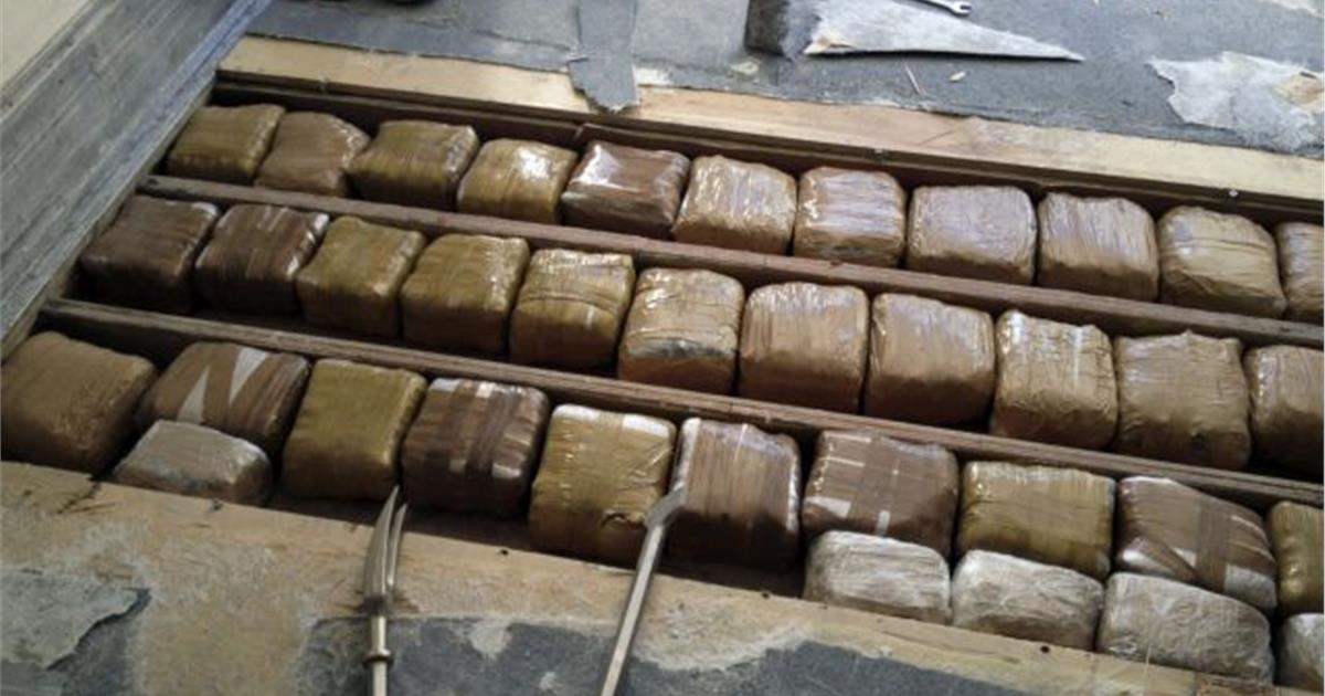 Ηγουμενίτσα: Κατασχέθηκαν 96 κιλά ακατέργαστης κάνναβης