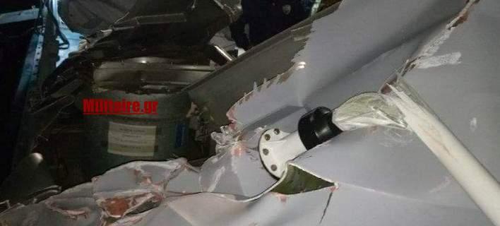 Λιμενικοί: Απόπειρα βύθισης από τους Τούρκους. Εικόνα από το σκάφος «Γαύδος»