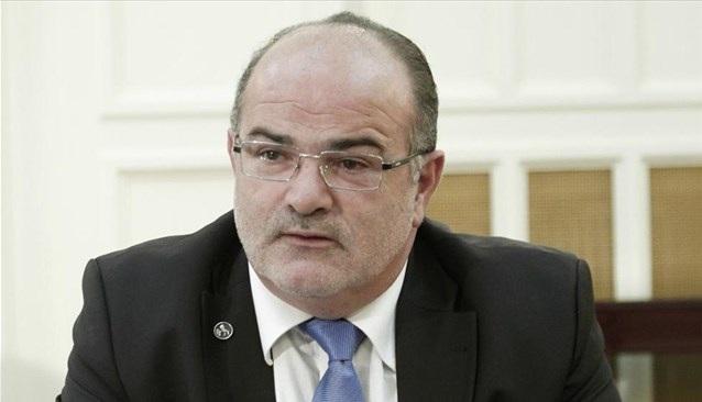 Ο πρόεδρος της ΓΣΕΒΕΕ, Γ. Καββαθάς σε εκδήλωση στον Βόλο