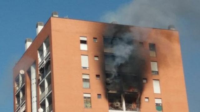 14χρονος υπέστη καρδιακή προσβολή σε πυρκαγιά στο Μιλάνο