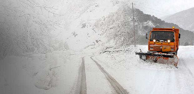 Εντονη χιονόπτωση στην κορυφή του Πηλίου. Ανοικτοί οι δρόμοι