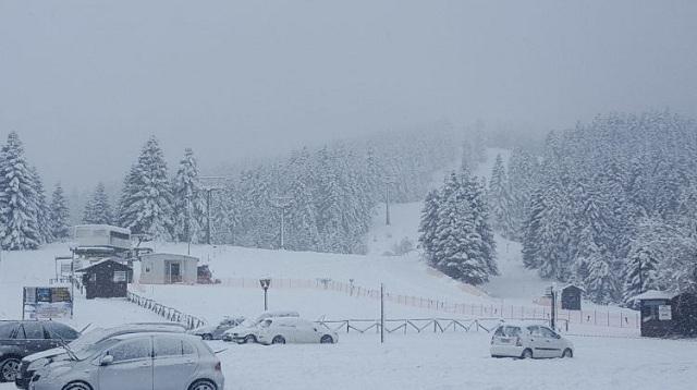 Μισό μέτρο χιόνι στα ορεινά των Τρικάλων
