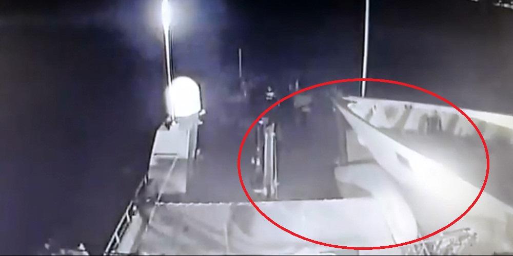 Έτσι εμβόλισε την «Γαύδο» η τουρκική ακταιωρός… (βίντεο)