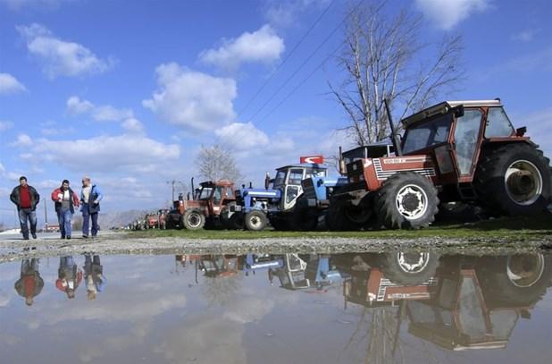 Αγροτικό συλλαλητήριο στη Λάρισα κατά των πλειστηριασμών