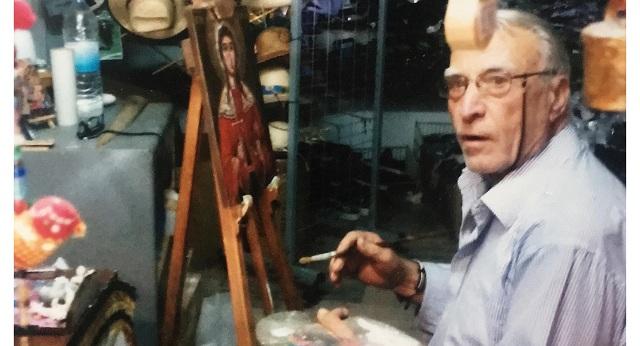 Εφυγε από τη ζωή ο λαϊκός ζωγράφος της Αλοννήσου