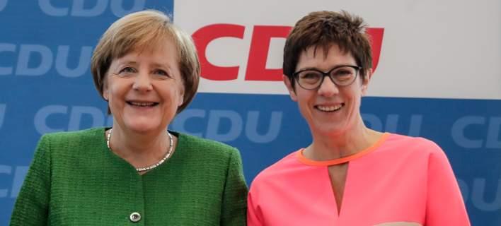 Αυτή είναι η διάδοχος της Μέρκελ στο CDU, Πρωθυπουργός στο Ζάαρ