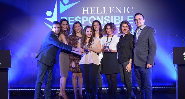 Διπλή Silver διάκριση στα Hellenic Responsible Business Awards 2018 για τη Vodafone Ελλάδας