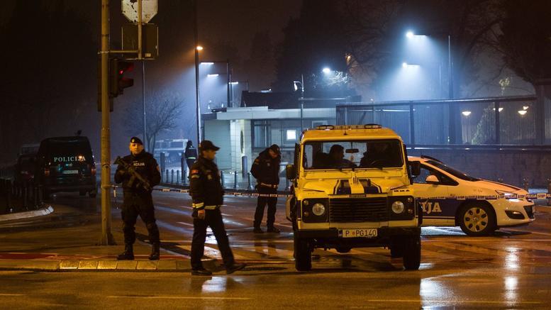 Επίθεση στην αμερικανική πρεσβεία στο Μαυροβούνιο. Ανατινάχτηκε ο δράστης