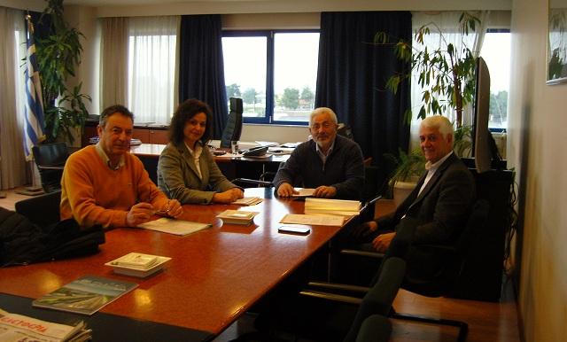 Συνάντηση εργασίας Νικ. Ντίτορα με το Δήμαρχο Θηβαίων