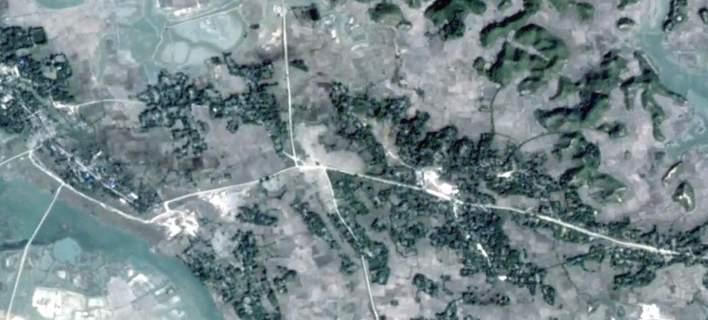 Ισοπεδώθηκαν δεκάδες χωριά των Ροχίνγκια στη Μιανμάρ [βίντεο]