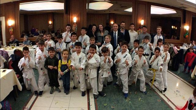 Επιτυχημένη εκδήλωση του ΑΣ Kyokushinkai Καράτε Βόλου