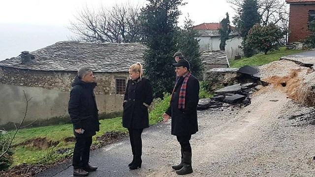 Ενεργό το φαινόμενο των κατολισθήσεων στο Δήμο Ζαγοράς -Μουρεσίου