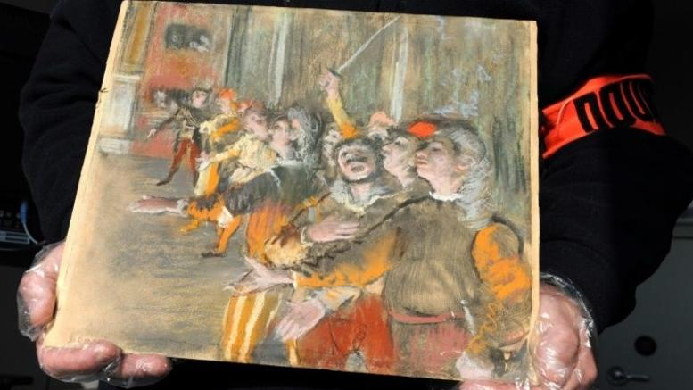 Βρέθηκε κλεμμένος πίνακας του Ντεγκά κρυμμένος σε λεωφορείο