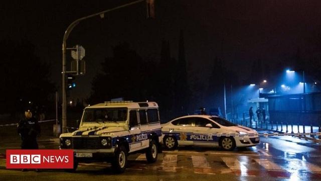Μαυροβούνιο: Έγραψε επιστολή στην οικογένειά του και ανατινάχτηκε έξω από την πρεσβεία των ΗΠΑ