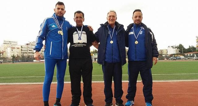 Μετάλλια στους πρωταθλητές ζωής