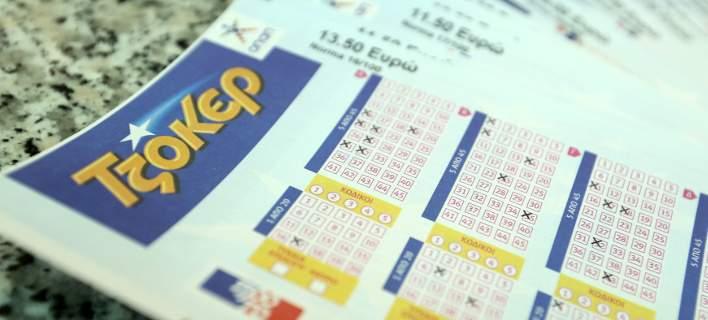 Τζόκερ: Με 3 ευρώ κέρδισε 1,25 εκατ. ευρώ ο υπερτυχερός