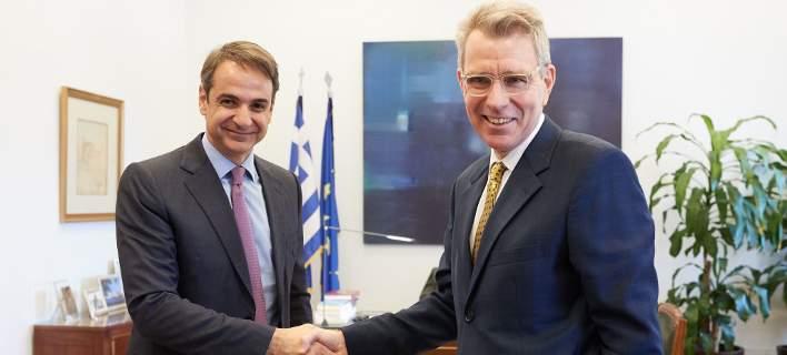 Αμερικανός πρέσβης: Δεν υπάρχει καμία έρευνα του FBI που να αφορά Ελληνες πολιτικούς