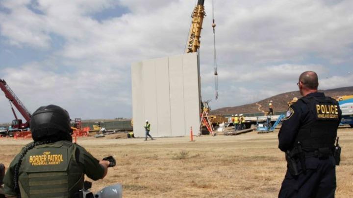 Απορρίφθηκε προσφυγή κατά της κατασκευής του διαβόητου τείχους στα σύνορα με το Μεξικό