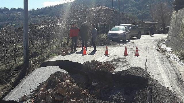 Στις πληγείσες περιοχές του Πηλίου ο Αλ. Μεϊκόπουλος