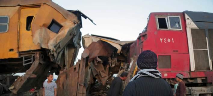 Αίγυπτος: Επτά νεκροί ο επίσημος απολογισμός των Αρχών από τη σύγκρουση τρένων